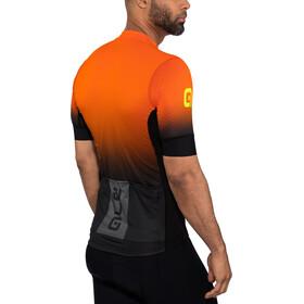 Alé Cycling PRS Dots Lyhythihainen Jersey Miehet, black-flou orange